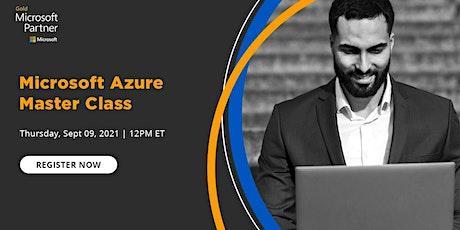 Live Event - Microsoft Azure Master Class tickets