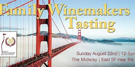 Family Winemakers of CA 2021 SF Volunteers tickets