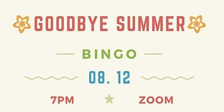 Pittsboro Rotary Club Goodbye Summer Bingo tickets
