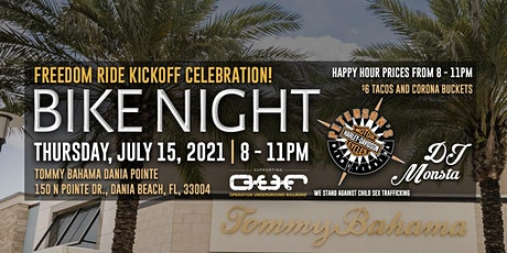 Peterson's Bike Night at Tommy Bahama Dania Pointe tickets