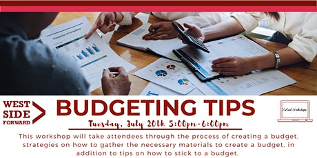 Budgeting Tips tickets