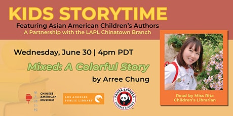 Kids Story Time with Asian American Children's Authors tickets