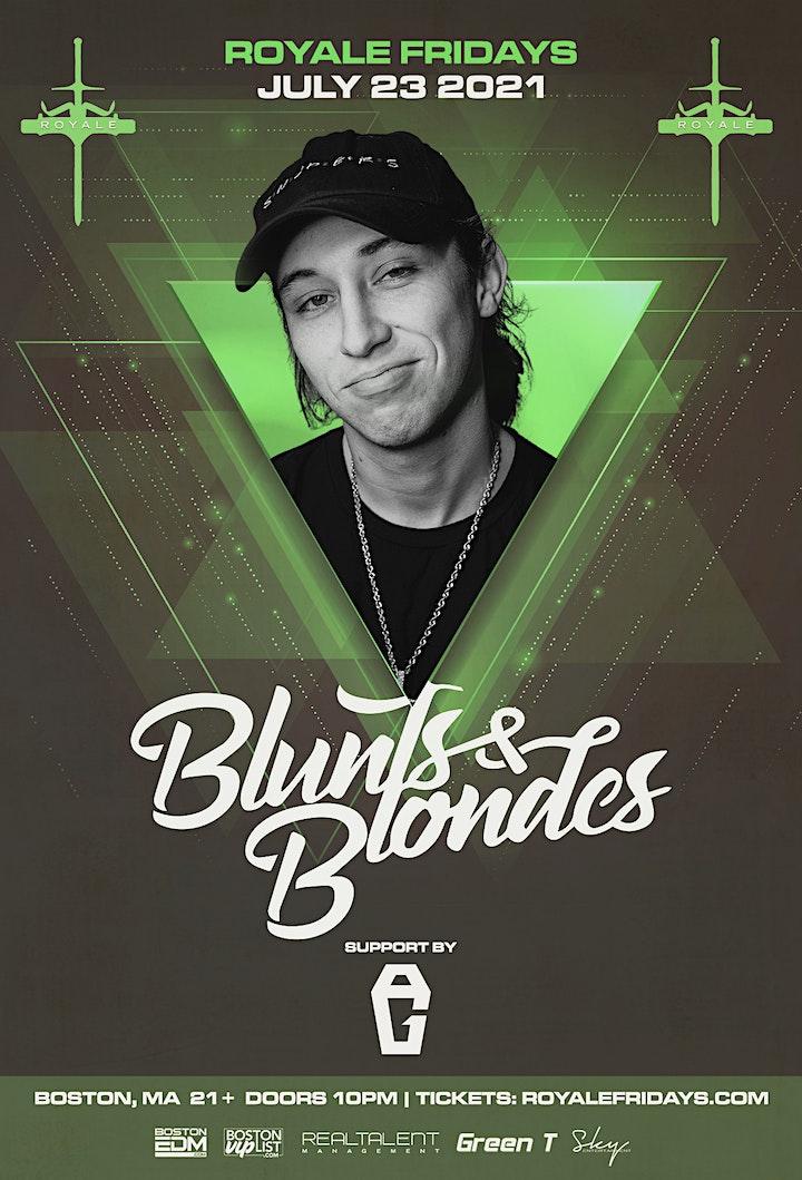 Blunts & Blondes at Royale | 7.23.21 | 10:00 PM | 21+ image