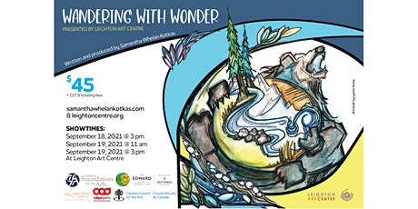 Wandering With Wonder tickets