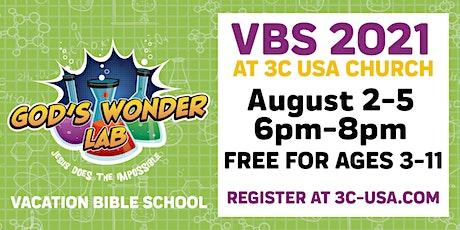 God's Wonder Lab VBS | Dover Campus tickets