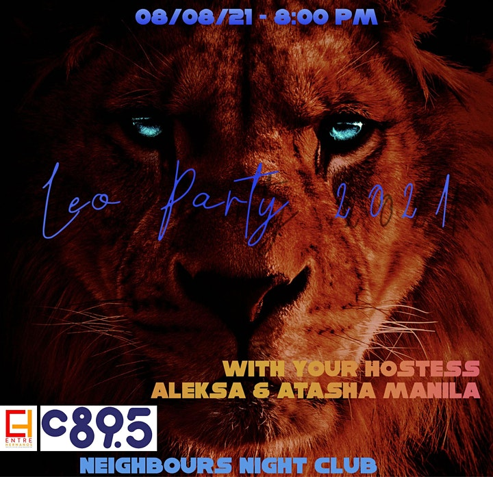 Leo Party 2021 at Neighbours Nightclub image