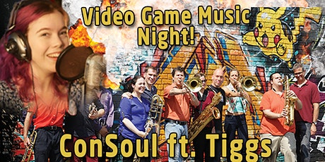 ConSoul NYC feat. Tiggs: Video Game Music Night tickets
