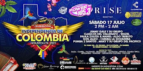 INDEPENDENCIA DE COLOMBIA - HOUSTON TX. tickets