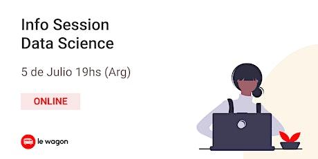 Data Science - Info Session entradas