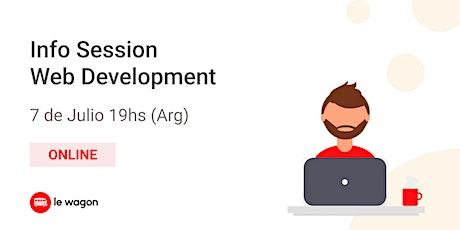 Web Development - Info Session entradas