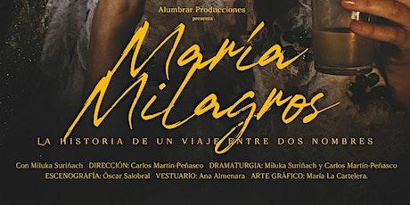 María Milagros entradas