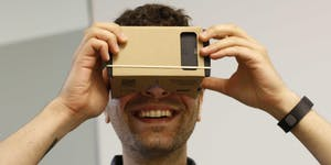 GOOGLE CARDBOARD VIRTUAL REALITY EXPO
