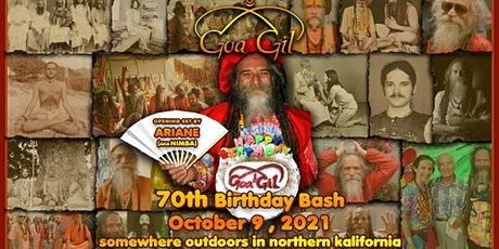 Goa Gil 70th Birthday Celebration tickets