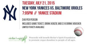 Go to Bat for Organ Donation:  Yankee Game with...