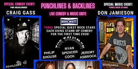 Punchlines and Backlines w/ Don Jamieson and Craig Gass tickets