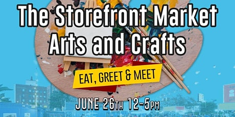 Storefront Market: Arts & Crafts tickets