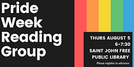 Pride Week Reading Group tickets