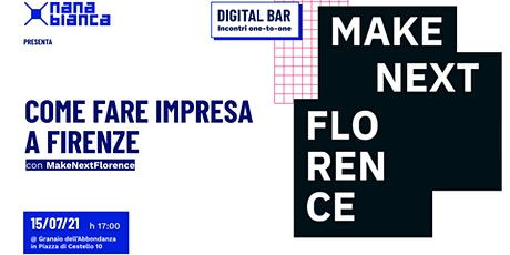 Digital Bar: Come fare impresa a Firenze biglietti