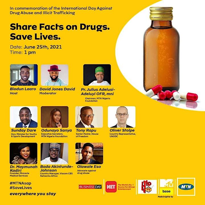 MTN & BusinessDay Commemoration of World Drug Day 2021 image