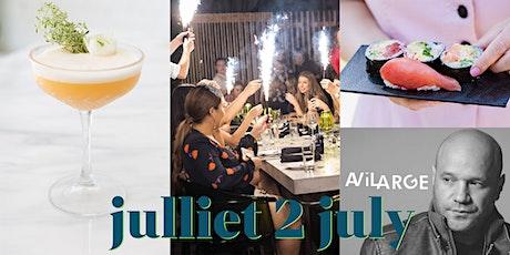 Open- Air Supper Club July 2nd / Supper Club en Plein-Air le 2 juillet tickets