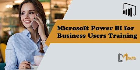Microsoft Power BI for Business Users 1DayVirtualLiveTrainingin St. Gallen tickets