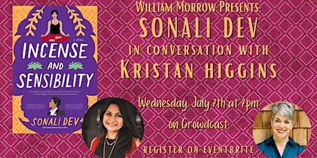 William Morrow Presents: Sonali Dev in conversation with Kristan Higgins tickets