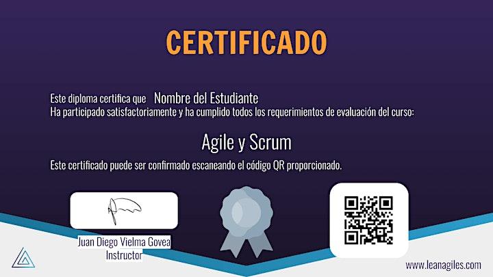 Imagen de Certificación de Agile y Scrum