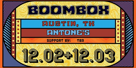BoomBox w/ ETHNO (Jeff Franca of Thievery Corporation) tickets