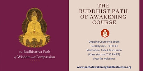Online Buddhist Course via Zoom on Mahayana tickets