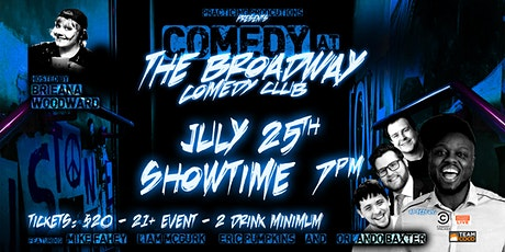 Broadway Comedy Club Comedy Show tickets