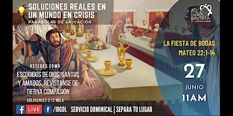 Servicio Dominical 27-06-2021 boletos