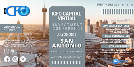 Live Web Event: The iCFO Virtual Investor Conference - San Antonio tickets