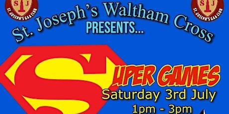 St Josephs GAA Super games tickets