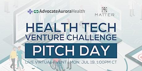 Health Tech Venture Challenge Pitch Day billets