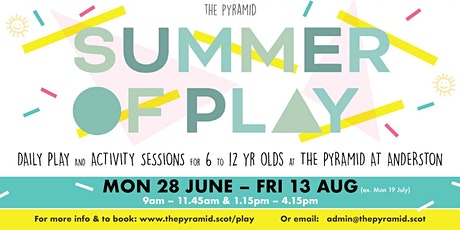 Summer of Play: Afternoon Session tickets