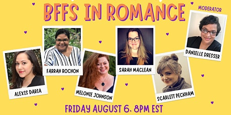 BFF's in Romance Virtual Event tickets