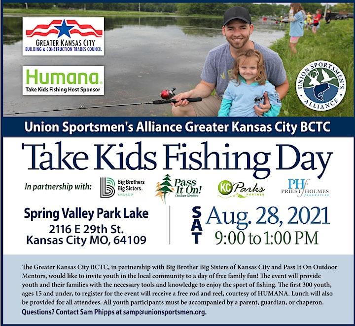 2021 KC Take Kids Fishing image