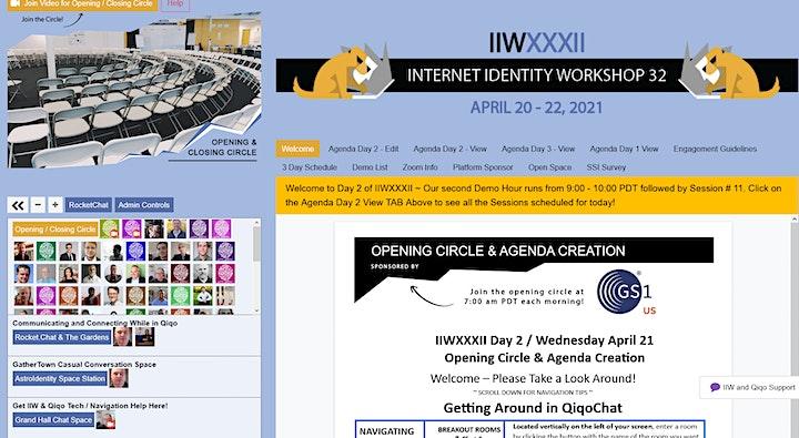Internet Identity Workshop IIWXXXIII  #33   2021B image