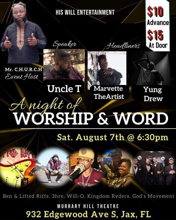 A Night of Hip Hop Worship & Word image