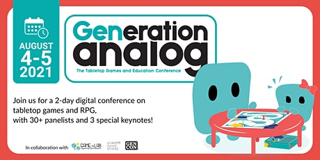 GENeration Analog tickets