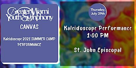 Kaleidoscope Summer Camp Performance tickets