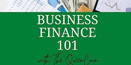 Business Finance 101 biljetter