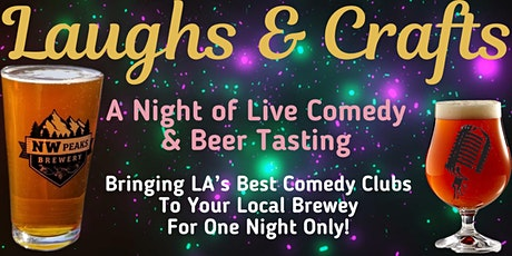 Laughs & Crafts (Standup Comedy & Beer Tasting) tickets