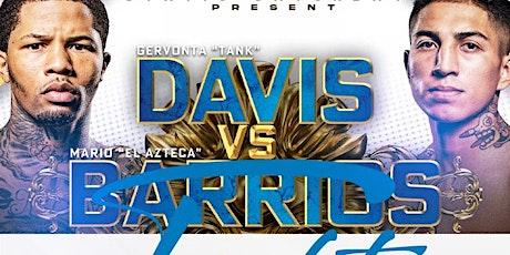 "Gervonta ""Tank"" Davis vs Mario Barrios Fight Watch Party at Odyssey Lounge tickets"