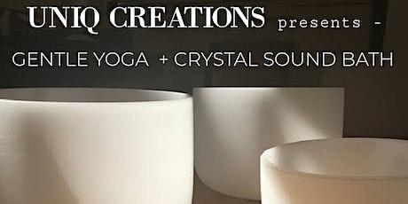 Gentle Yoga + Sound Bowl healing tickets