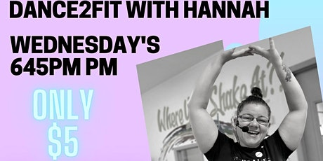 Dance2Fit with Hannah tickets