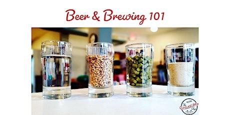 Beer & Brewing 101 tickets