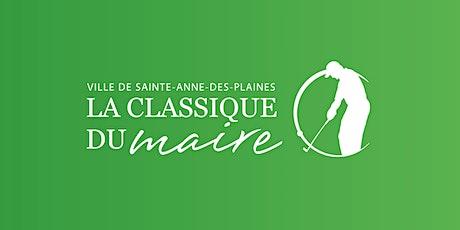 Tournoi de golf de la Classique du Maire - Édition 2021 (SADP) tickets