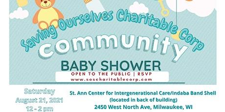SOS Community Baby Shower 2021 tickets