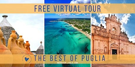 FREE VIRTUAL TOUR: THE BEST OF PUGLIA biglietti